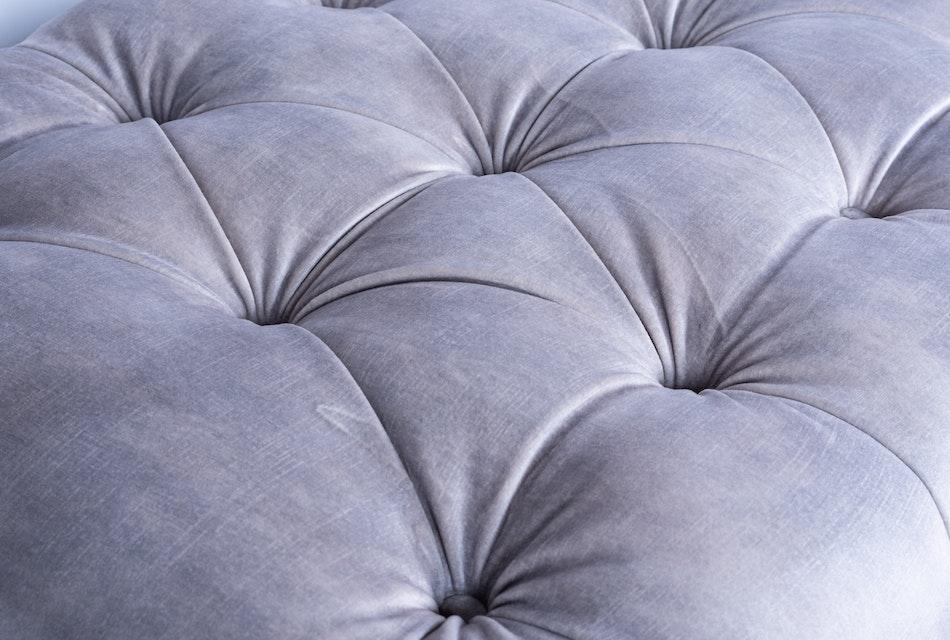 Deep buttoned footstool 2