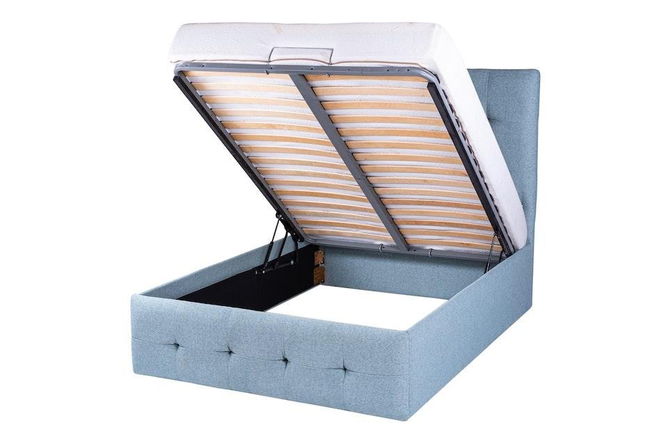 Duke upholstered storage bed 2