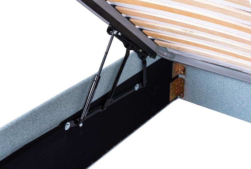 Duke upholstered storage bed 3