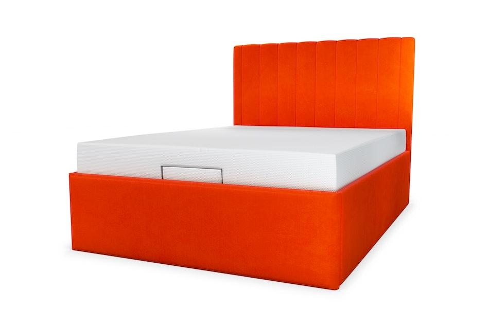 Duke upholstered storage bed
