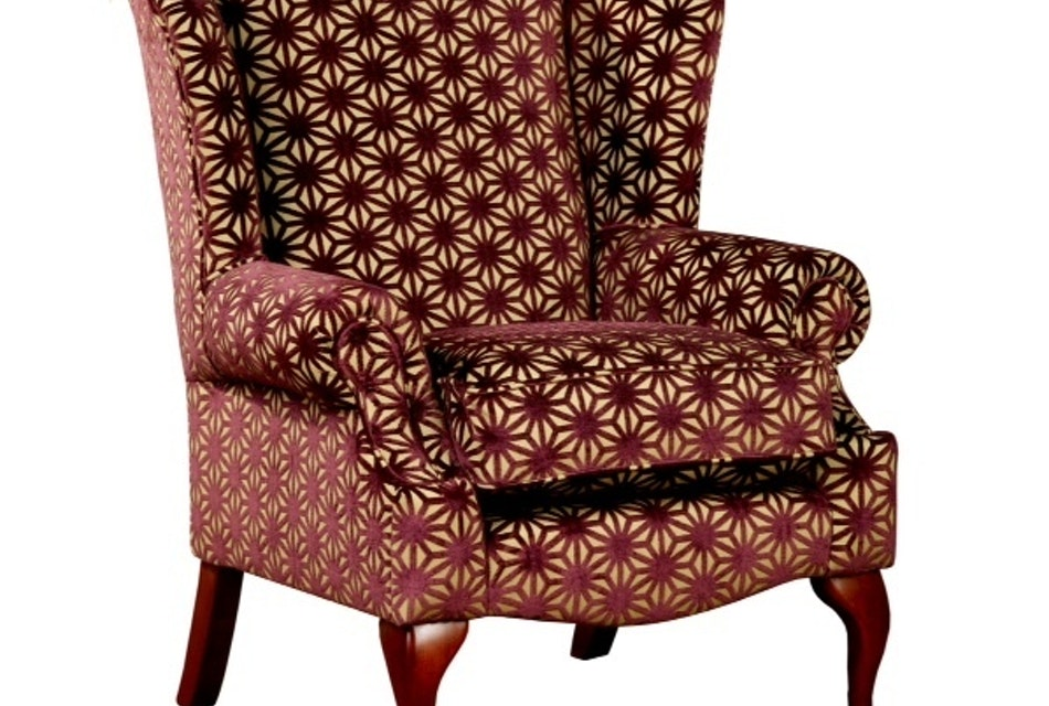 Queen anne wing chair 2