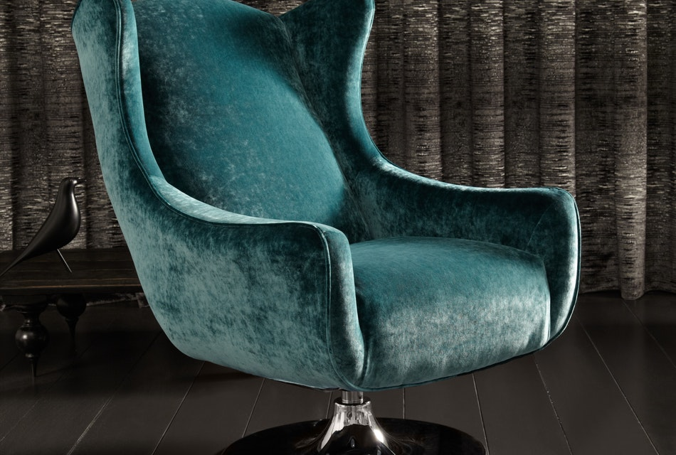 Space swivel wing chair 4