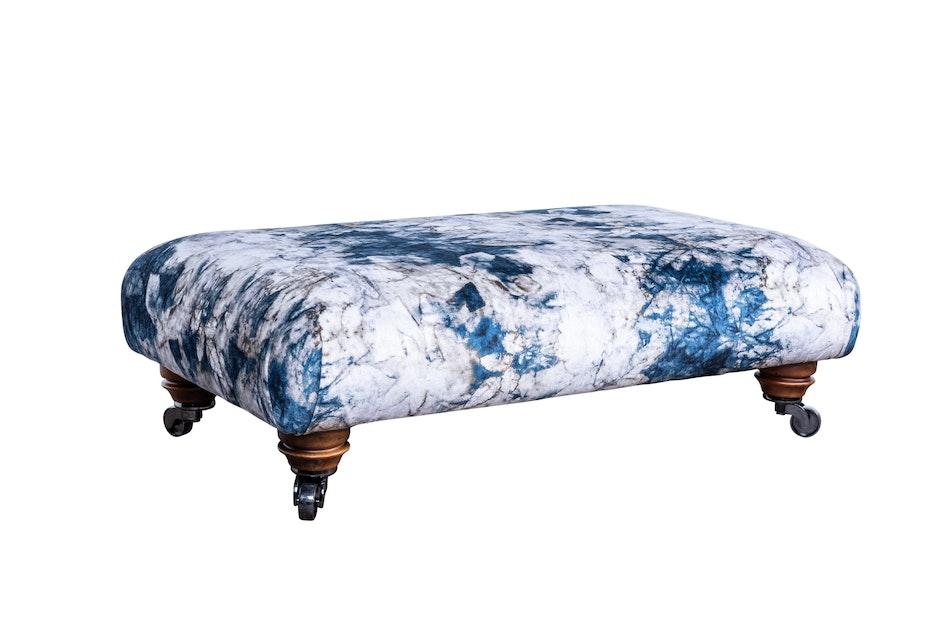 Upholstered footstool 2