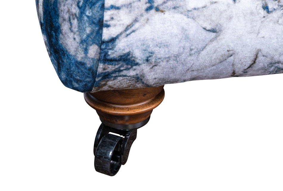Upholstered footstool 3